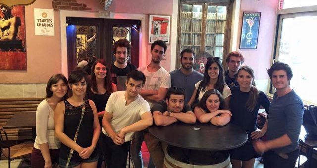 Tournage au Troll Café