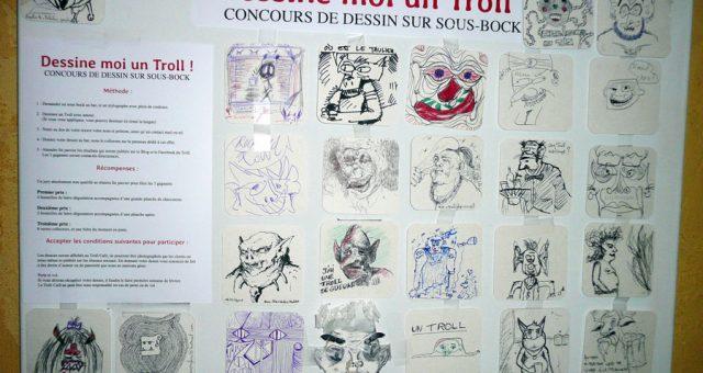 Résultats du concours de dessin sur sous-bock