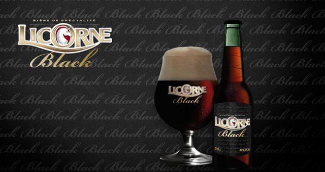 Nouvelle Bière bouteille : Licorne Black