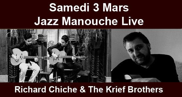 Jazz Manouche – Samedi 3 Mars