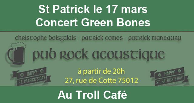 Le Troll Café fête la Saint Patrick