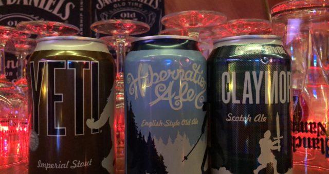 Craft Beers  du Colorado à découvrir au Troll Café