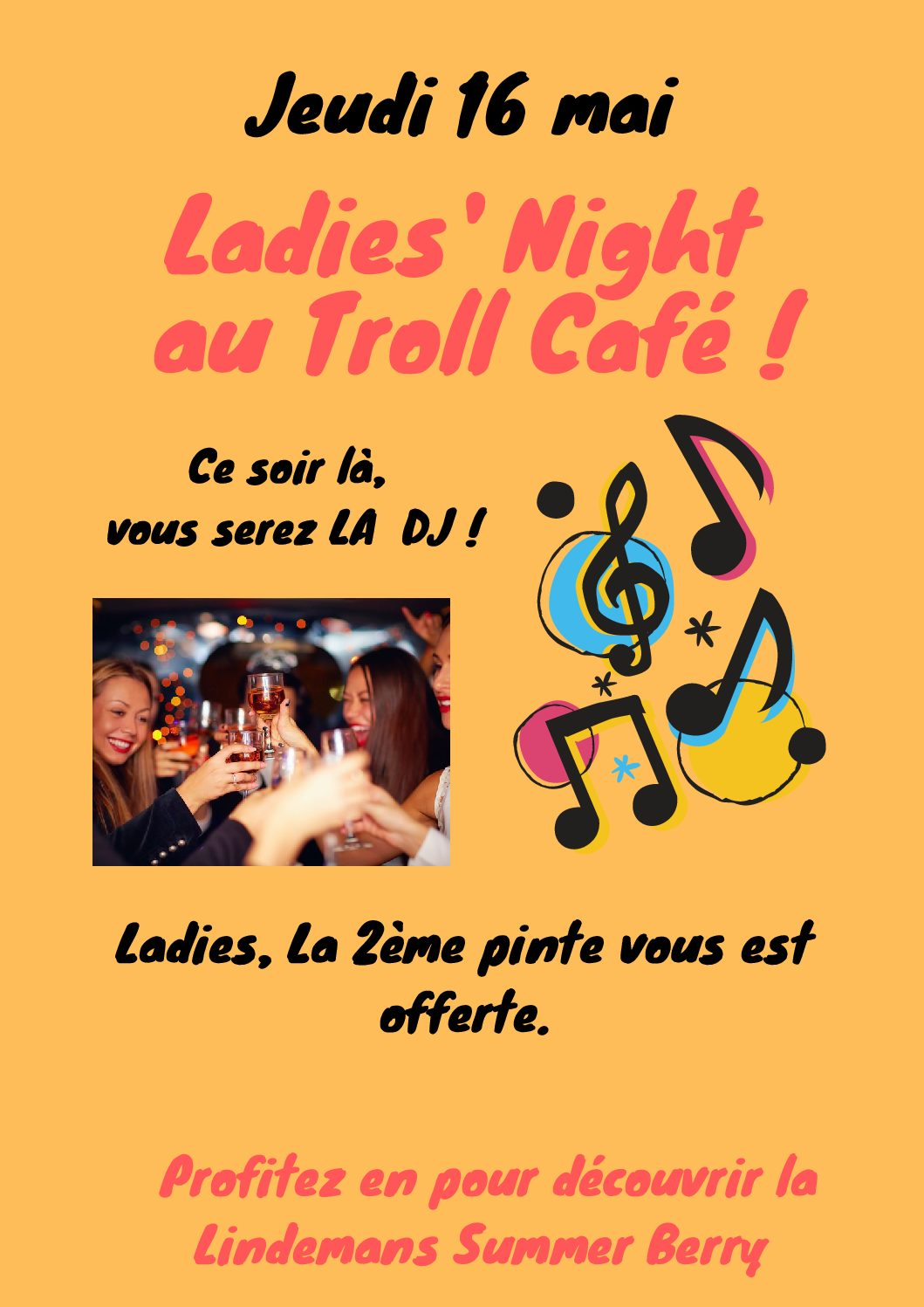Ladies Night au Troll Café